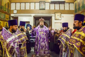 Божественная литургия. Волгодонск. 28.02.2015 г.