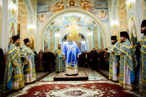 Божественная литургия. Волгодонск. 15.02.2015 г.