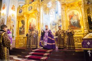 Заупокойное вечернее богослужение. Волгодонск. 20.03.2015 г.