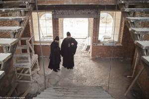 Глава Волгодонской епархии епископ Волгодонский и Сальский Корнилий посетил строящиеся объекты Волгодонской епархии.