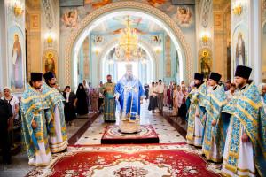Божественная литургия. Волгодонск. 28.08.2015 г.