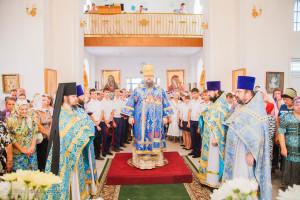 Божественная литургия. г.Сальск. 30.08.2015 г.
