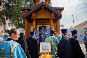 Освящение часовни в честь великомученика Георгия Победоносца г. Сальск. 31.08.2015 г.