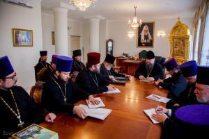 Епископ Волгодонский и Сальский Корнилий возглавил совещание по строительству храмов Волгодонской епархии.