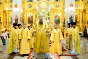 Божественная литургия. Волгодонск. 13.09.2015 г.