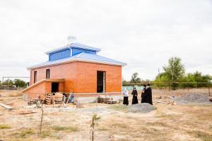 Глава Волгодонской епархии епископ Корнилий совершил визит на место строительства храма Покрова Пресвятой Богородицы хутора Лозной