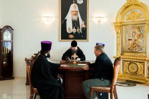Епископ Волгодонский и Сальский Корнилий возглавил совещание по строительству часовни на территории городской больницы г. Пролетарска