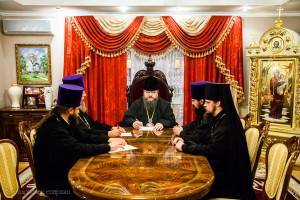 Епископ Волгодонский и Сальский Корнилий провел совещание на епархиальном подворье Волгодонской епархии