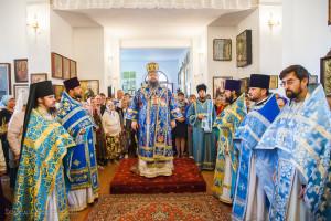 Божественная литургия. ст.Тацинская. 21.09.2015 г.