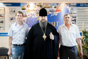 Глава Волгодонской епархии епископ Корнилий посетил Волгодонское предприятие инженерный центр «Грант»