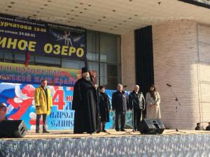 В день празднования в честь Казанской иконы Божией Матери и День народного единства, в Волгодонской епархии прошли торжественные мероприятия.