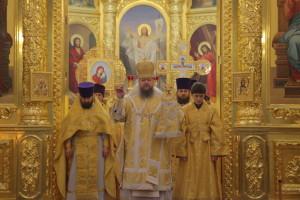 Божественная литургия. Волгодонск. 01.11.2015 г.