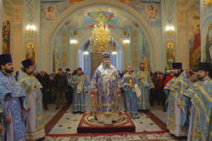 Божественная литургия. Волгодонск. 04.11.2015 г.
