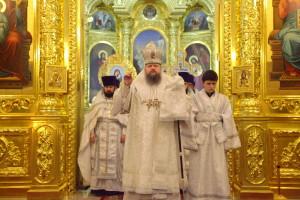 Божественная литургия. Волгодонск. 07.11.2015 г.