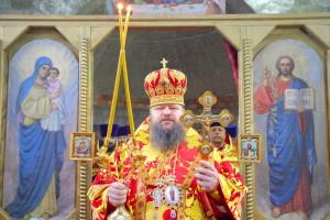 Божественная литургия. Хутор Упраздно-Кагальницкий. 08.11.2015 г.