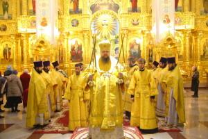 Божественная Литургия. Волгодонск. 29.11.2015 г.