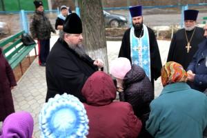 Глава Волгодонской епархии епископ Волгодонский и Сальский Корнилий посетил станицу Мечетинскую. 04.12.2015 г.