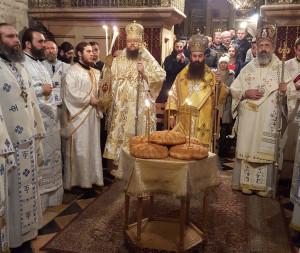 Иерусалим, храм Гроба Господня, Божественная литургия 13.12.2015