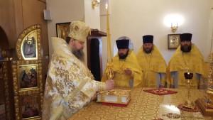 Святая земля, Божественная Литургия, Горненский монастырь 19.12.2015