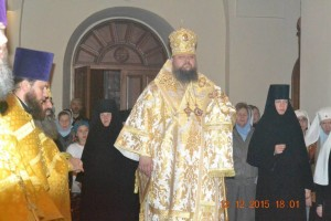 Святая земля, Всенощное бдение, Горненский монастырь 12.12.2015