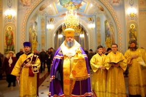 Молебное пение на новолетие. Волгодонск. 31.12.2015 г.