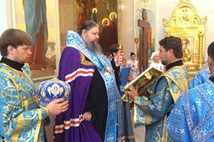 09.07.2016г. Молебен за  божественной литургией г.Волгодонск