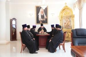 19.07.2016 г. епископ Волгодонский и Сальский Корнилий возглавил совещание. г.Волгодонск