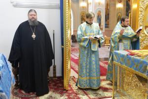 11.07.2016г. Молебен за  божественной литургией г.Волгодонск