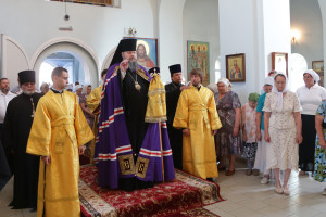 12.07.2016 г. Божественная литургия пс. Зимовники.