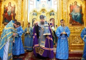 25.07.2016г. Молебен за божественной литургией г.Волгодонска.
