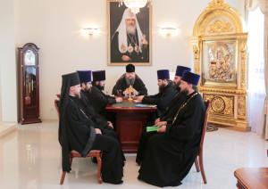 26.07.2016 г. епископ Волгодонский и Сальский Корнилий возглавил совещание. г.Волгодонск