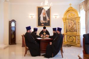 13.07.2016 г. епископ Волгодонский и Сальский Корнилий возглавил совещание. г.Волгодонск