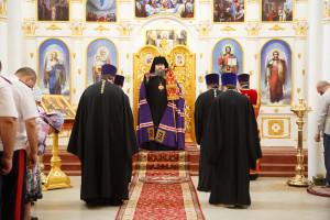 31.08.2016г. Божественная литургия г. Пролетарск.
