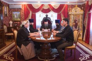 3.07.2017 г. Епископ Волгодонский и Сальский Корнилий возглавил совещание.