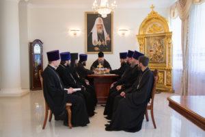 13.07.2017 г. Епископ Волгодонский и Сальский Корнилий возглавил совещание.
