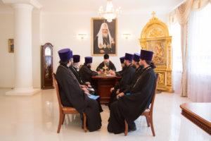 19.07.2017 г. Епископ Волгодонский и Сальский Корнилий возглавил совещание.