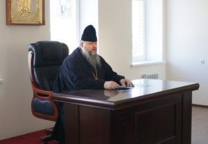 17.08.2017 года епископ Волгодонский и Сальский Корнилий возглавил совещание в епархиальном управлении г.Волгодонск