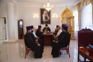 8 августа 2017 г. Епископ Волгодонский и Сальский Корнилий возглавил совещание с духовенством Волгодонской епархии.