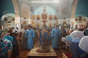 10 августа 2017 года Божественная литургия хут. Крымский.