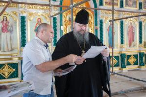 3.08.2017 г. Епископ Волгодонский и Сальский Корнилий возглавил совещание.