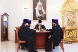 17.08.2017 года епископ Волгодонский и Сальский Корнилий возглавил епархиальный совет г.Волгодонск
