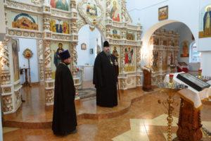 23 августа 2017г. епископ Волгодоский и Сальский Корнилий посетил храм в честь архистратига Михаила ст. Романовская