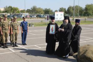 12.09.2017 г. епископ Волгодонский и Сальский Корнилий посетил В/Ч 55796 г. Морозовск