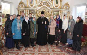 Епископ Корнилий посетил репетиционную спевку архиерейского хора