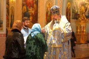 Епископ Корнилий возглавил Всенощное бдение в волгодонском кафедральном соборе Рождества Христова