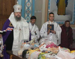 Накануне Дмитриевской родительской субботы епископ Корнилий совершил вечернее богослужение (парастас)
