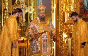 29 октября епископ Корнилий совершил Божественную литургию в соборе Рождества Христова