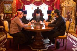23.10.2017 г. Епископ Волгодонский и Сальский Корнилий возглавил совещание на епархиальном подворье