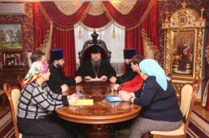 Епископ Корнилий провел совещание на епархиальном подворье