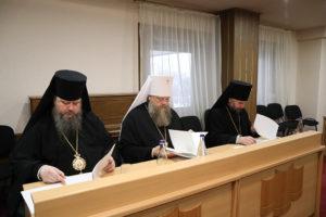 10 ноября епископ Волгодонский и Сальский Корнилий принял участие в заседании комиссии по канонизации новомучеников и исповедников Церкви Русской Донской Митрополии.